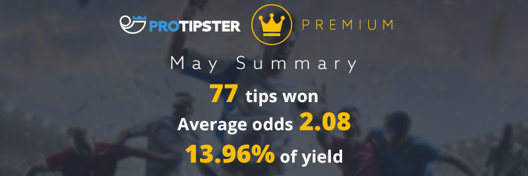 ProTipster Premium Made Profit in May too! | ProTipster