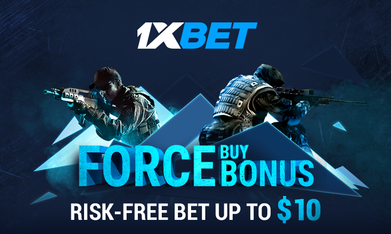 Bet on ESL Pro League and get refund of your losing bets!