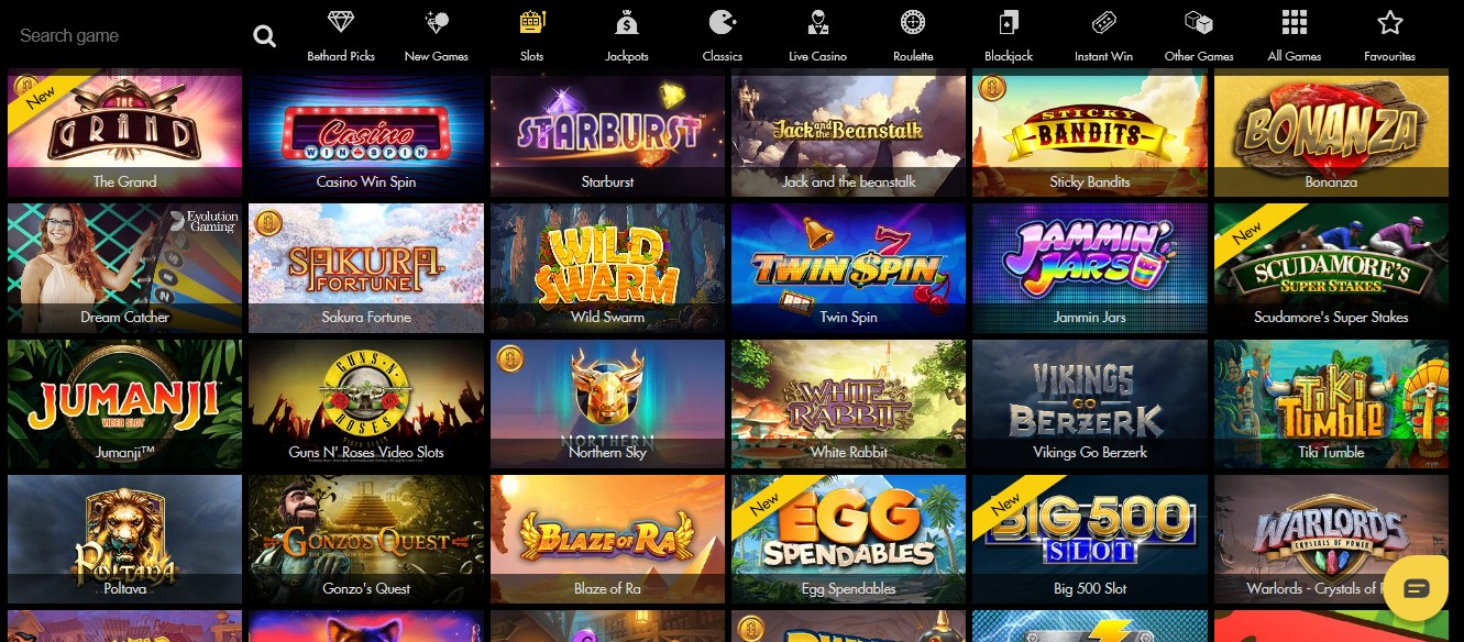 bethard casino review