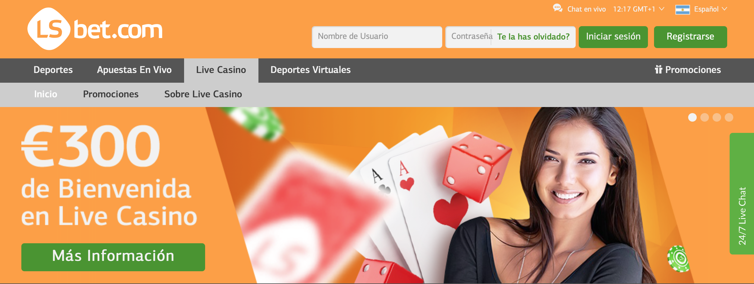 lsbet casino home page