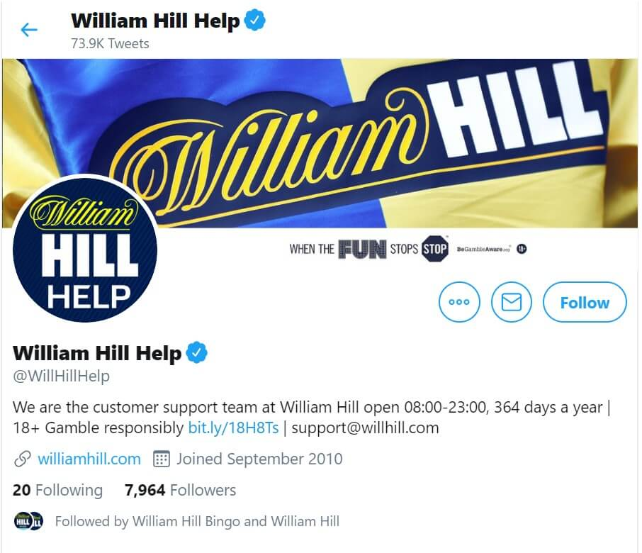 william hill contact form