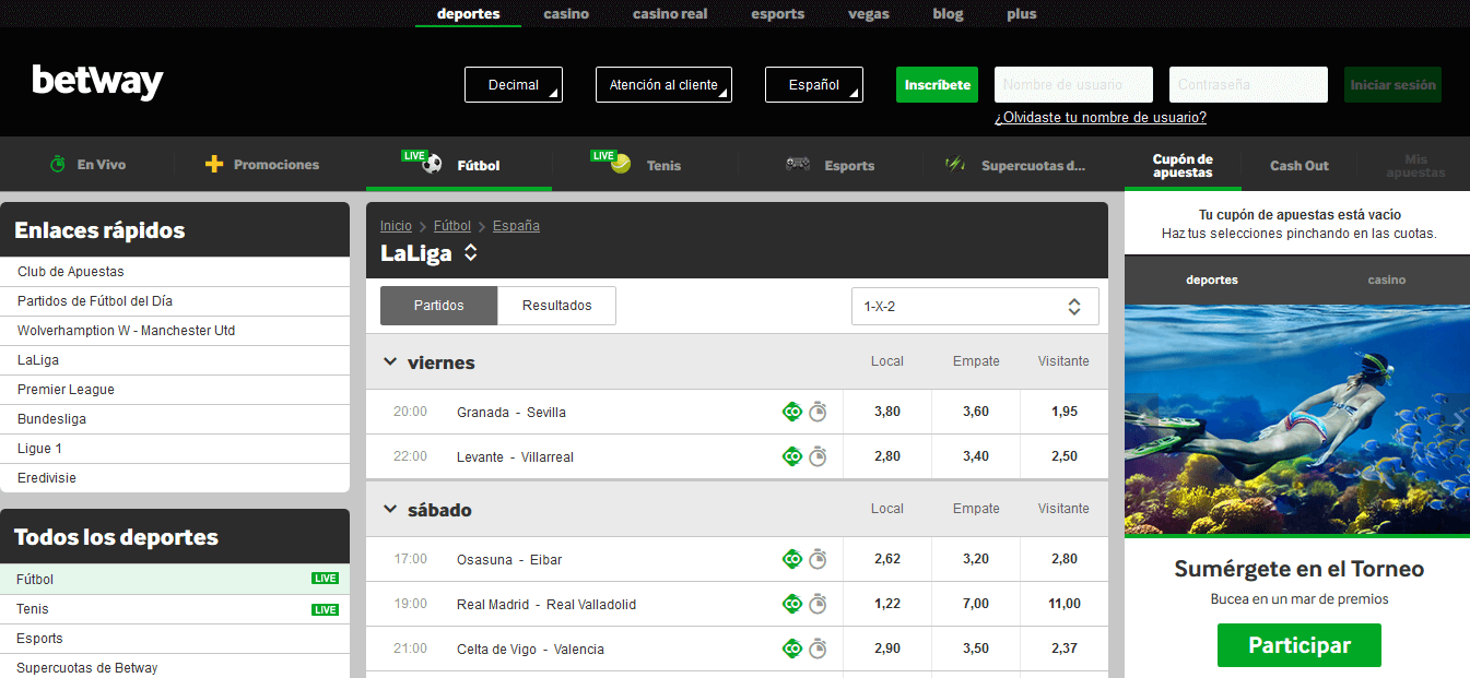 Betway Quotes