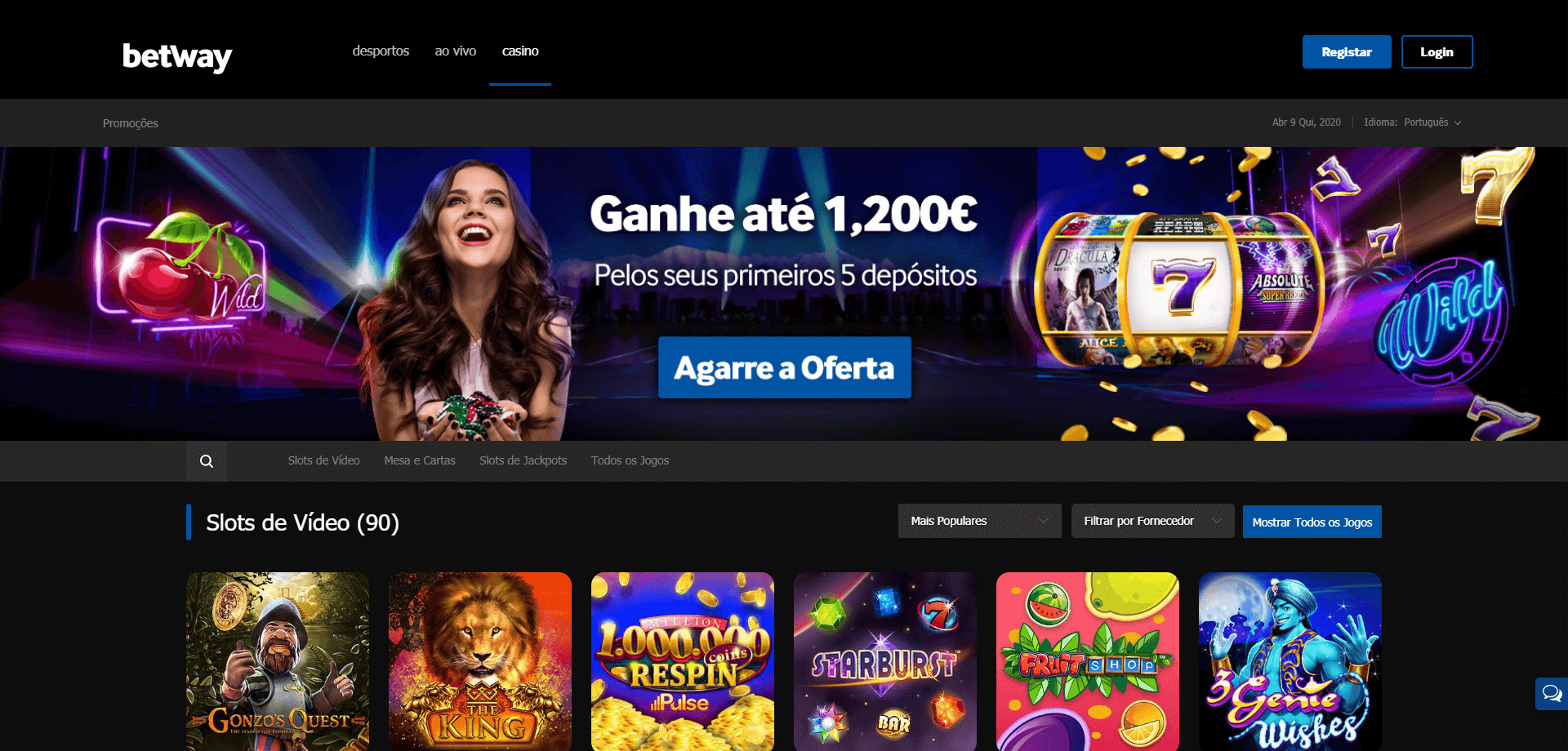 casino betway portugal
